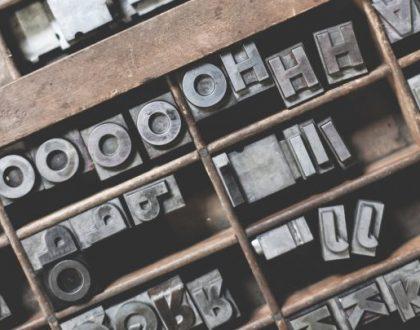 Font, czcionka czy krój pisma? | Studio Reklamy Mofo